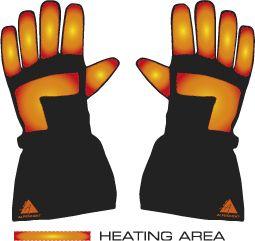 Alpenheat перчатки с подогревом